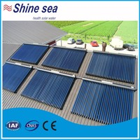 High tech plastic swimming pool solar water heater collectors