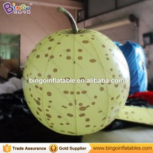 Customized inflatable pear balloon giant inflatable pear fruit for Advertising