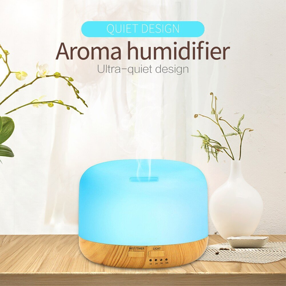 300ml aroma essential oil diffuser fragrance humidifier air vaporizer with Bluetooth Speaker