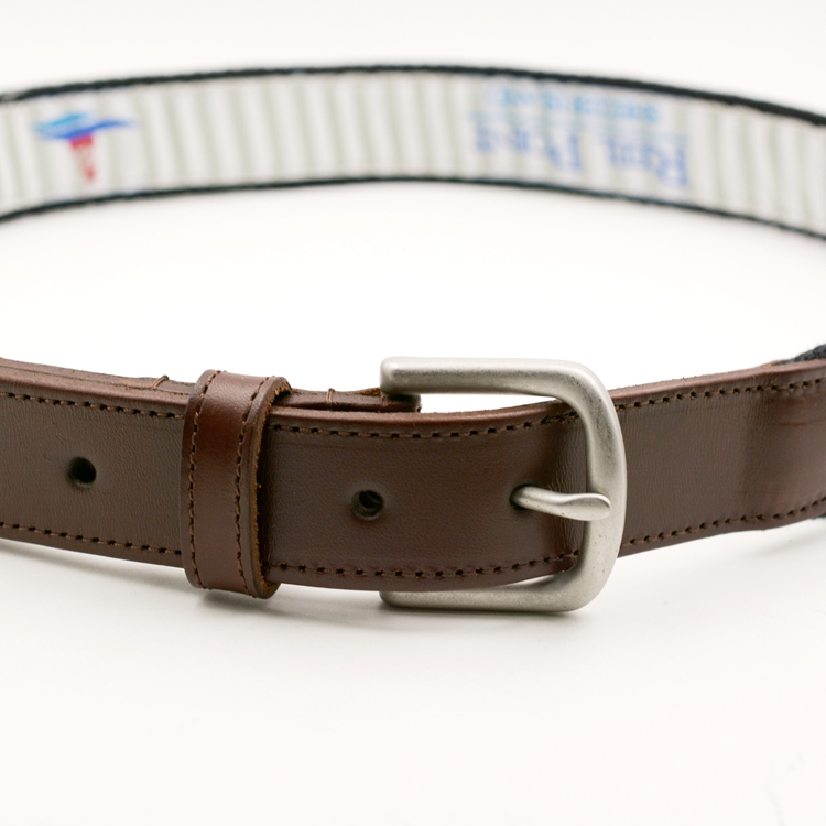 custom embroidery belts authentic leather belts for men