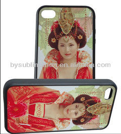Card insert phone case/Sublimation card-insert blank case for Iphone4/4S