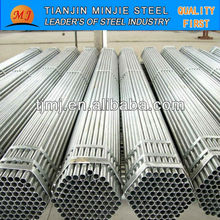 Thin Wt Galvanized Pipe/GI Pipe Size For Iran Market For Contruction Price Per Ton Professional Manufacturer China