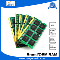 Different types of motherboard 512mb*8 8gb ddr3 ram 1600mhz laptop