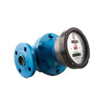 Shanghai CIXI high temperature Oval gear mechanical asphalt analog flowmeter