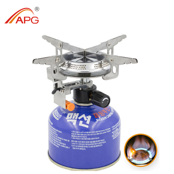 Outdoor Picnic Burners Foldable Camping Gas Stove and Equipped With Fire Starter Camping Stove