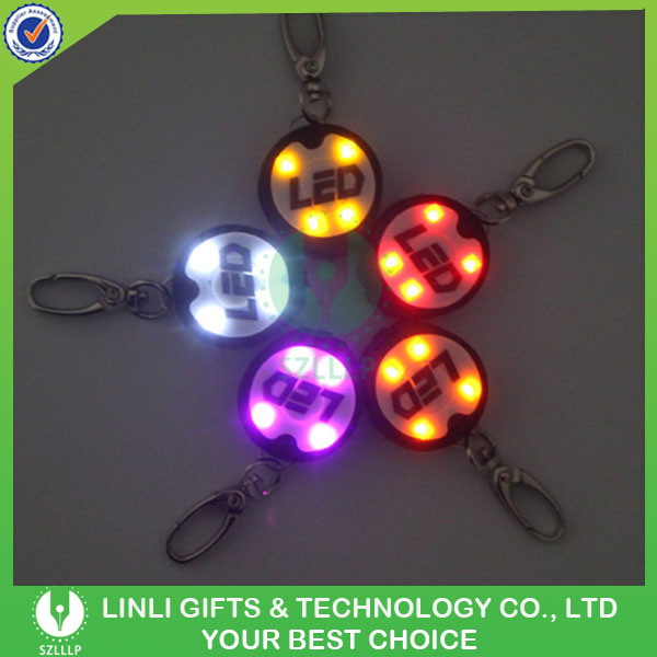 Newest USB Rechargeable Flashing Cheap Personalized Dog Tags With LED Light