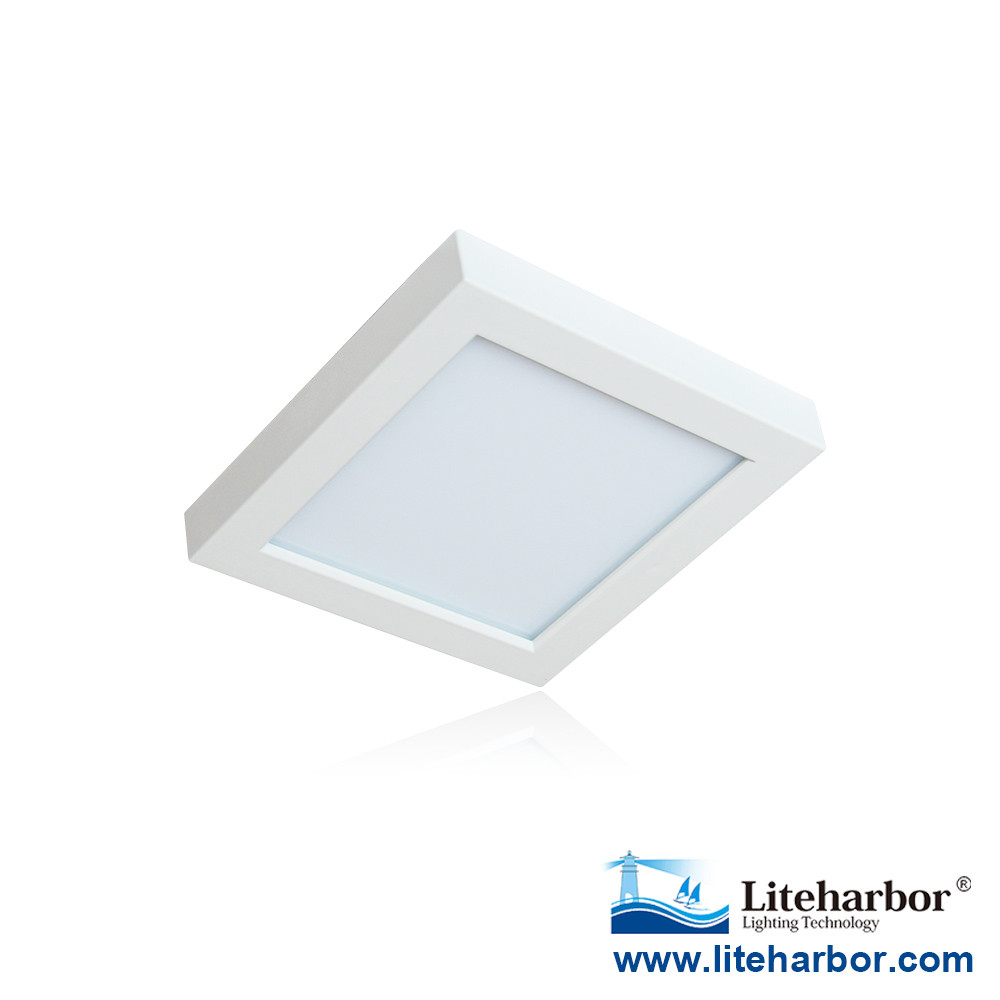ETL UL Listed 110V /120V 9/11W 5.5 inch Dimmable LED Square ceiling light