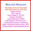 sale factory price led 9004 headlight bulb 9004 led light high low beam H4/H13/9004/9007 led headlight led headlight bulbs