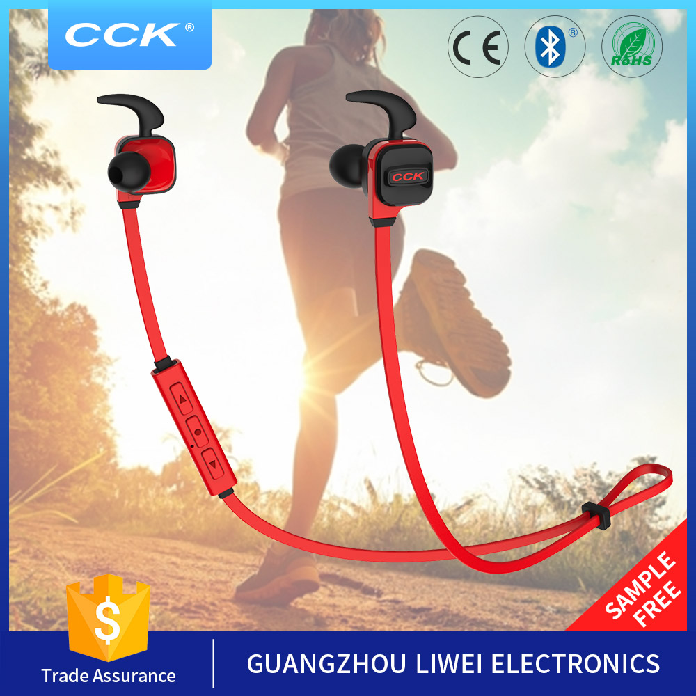 2017 hot new products innovative sports item wireless bluetooth 4.1 earphones