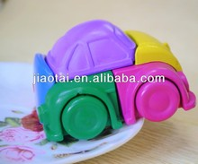 Hot 3D Cars shapes Wax Crayons for Kids