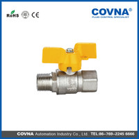 Brass float ball valve full flow Ball Valve gas ball valve with low price