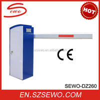 Security Automatic Aluminum Barrier Arm Gate, Traffic Parking Boom Barrier Gate for Parking Lot Management System