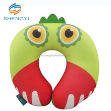 Excellent quality cheapest fashion portable diposable u shaped neck covers microbead/microbeads pillows with pattern printed