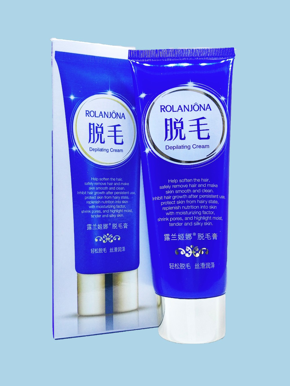 Rolanjona body hair removal depilatory cream permanent for women and men