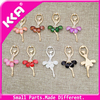 Fashtion Accessories Custom Charms Metal Shoe