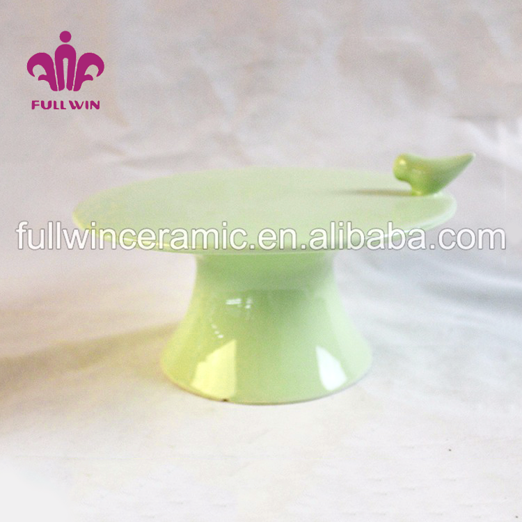 Best selling products ceramic cake stand mini cake stand and cake stand with dome