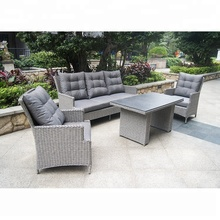 Good Quality Hot Sale Second Hand Rattan Garden Furniture, Used Cast Iron Patio Furniture