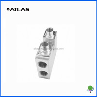 precision strong machining part made of stainless steel finished with plating