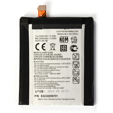 mobile phone with 3000mah battery For LG Optimus G2 D801 VS980 LS980 mobile phone batteries