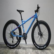 New design 26&quot; Alloy hydraulic disc brake 27spd fat tire hand-held mountain <strong>bike</strong> bicycle