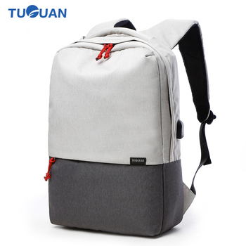 19fc61d86c Tuguan Women Men Laptop Notebook Backpacks Brand Backpack Casual School  College Student Bag External USB Charge