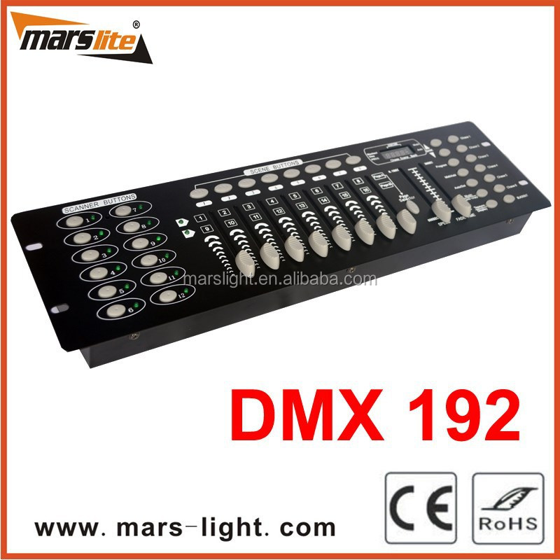 Pro Disco 192 DMX Controller For Lighting Equipment