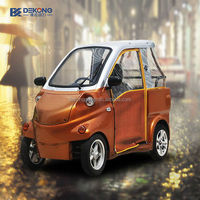 left hand right hand drive 2 person mini electric car import with EEC for european countries