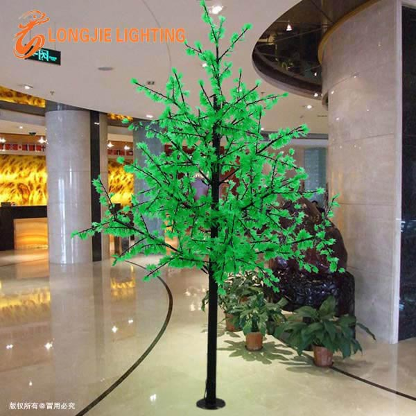 1296 pre lit led christmas trees red green led maple trees for Where can i buy a red christmas tree