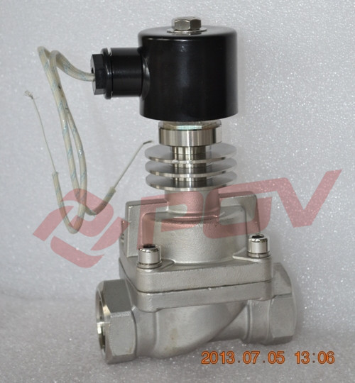 Normally closed thread high pressure 24v oil burner solenoid valve