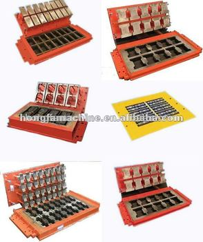 brick mould,block machine mold,cement block machine mold