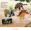 2017 hot selling toys new vinyl dinosaur series toys
