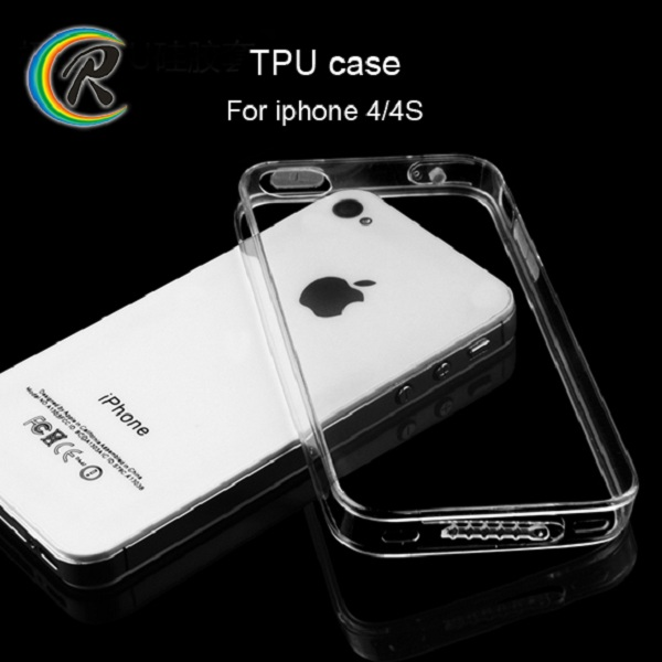 Phone accessories smartphone case for iPhone 4s case silicone tpu cover case for iphone 4 4s