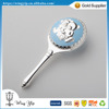 Manufacturer fancy Blue Rattle Metal Toy for Baby Gift