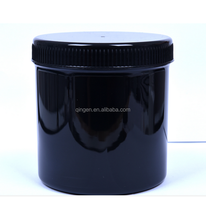 New product 500g UV nail glue/nail liquid gel powder plastic jar/container,light protection