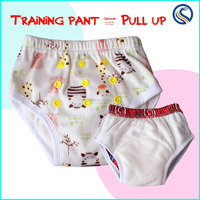 Happyflute wholesale waterproof training pants New Minky Waterproof Reusable Bamboo Potty Training Pants