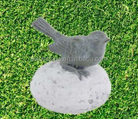 Garden natural stone bird carving sculpture