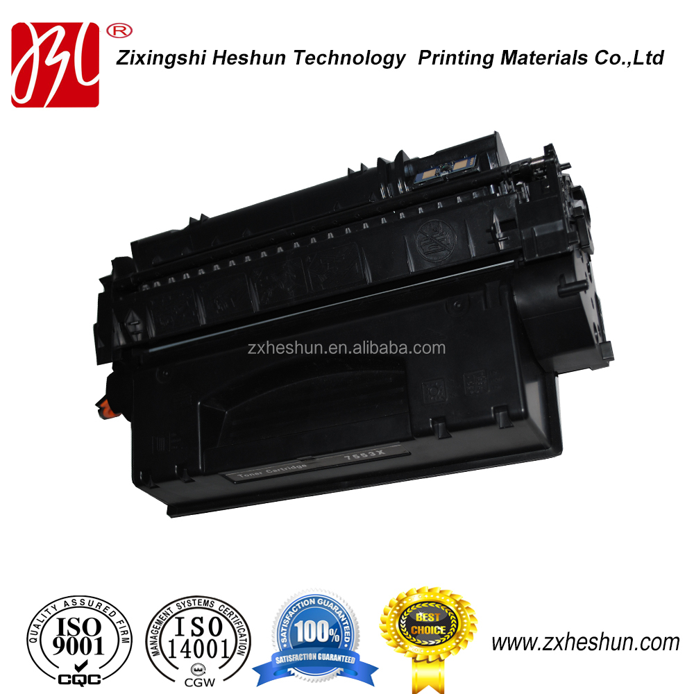 Premium compatible 53X laser toner cartridge for hp printer P2014/n/P2015/P2015n/P2015d/P2015dn/P2015x/M2727nf/nfs