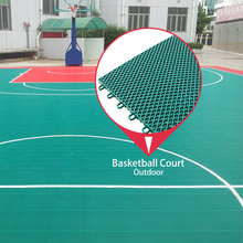 China wholesale outdoor interlocking floor deck tiles standard basketball court