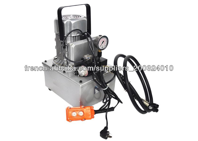 simple effet lectrique pompe hydraulique avec une capacit d 39 huile 5l max de pression 700. Black Bedroom Furniture Sets. Home Design Ideas