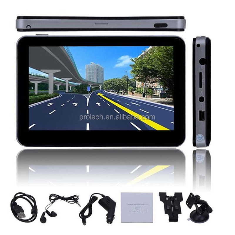 5 inch car gps navigation system DDR 128 MB 800X480 / 8GB 800Mhz Free world map