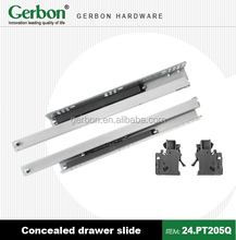 Concealed Drawer Slides with Locking Device