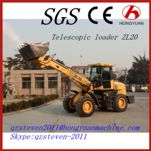 Telescopic Wheel Loader 2 Tons Lifting Capacity HYM TL2000 with CE