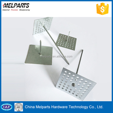 Heat preservation Material perforated base insulation pins For Hvac System