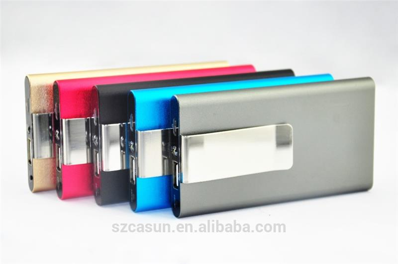5000mAh Portable Power Bank with back up For Cellphones