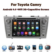 "8"" HD Digital Toyota Camry Android car dvd player with Wifi 3G GPS Bluetooth Radio RDS USB IPOD Steering wheel Control"