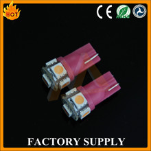 CE, FCC, RoHS approved factory wholesale low price 5SMD 5050 auto led for interior light dome lights