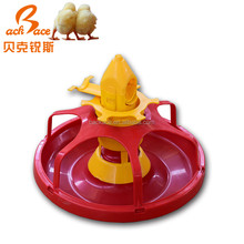 Poultry farm house plastic round bale feeder pan for broiler