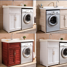China Washing Machine Vanity Cabinet Bathroom Vanities
