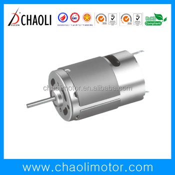 Low noise high speed brushed dc motor CL-RS380PH for vacuum cleaner