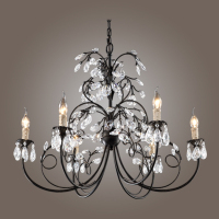 USA Style Modern Crystal Chandeliers Ceiling Lights